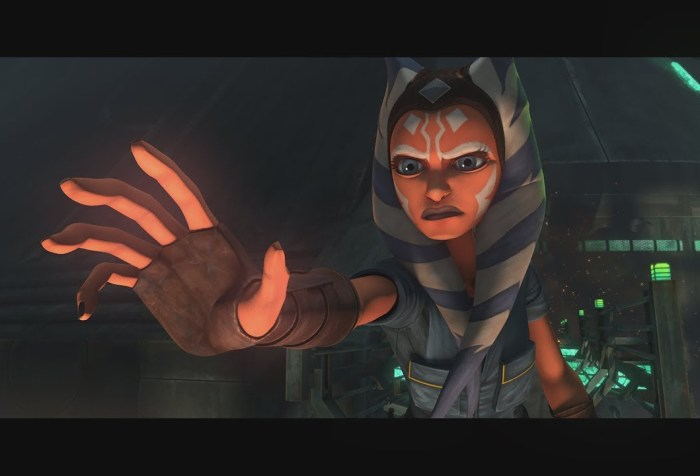 "Ashoka Tano in Star Wars: The Clone Wars ""Dangerous Debt"""