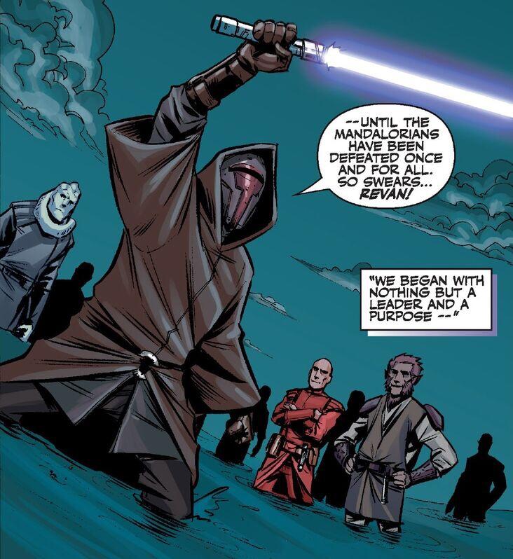 The Jedi Revan Joins the Mandalorian Wars Star Wars