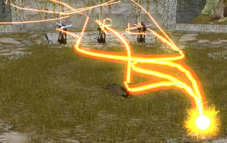 Star Wars KOTOR II Kreia kills the Jedi Masters