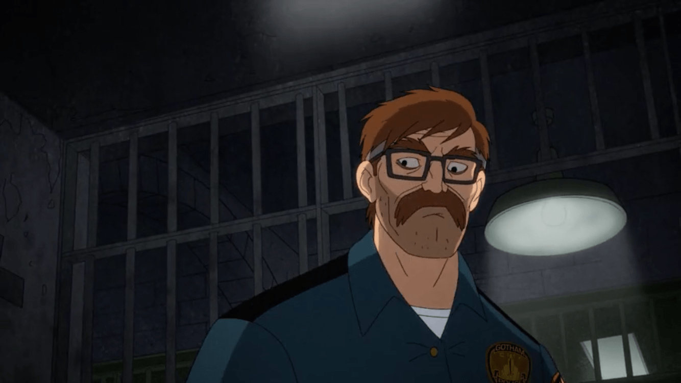 Harley Quinn Season 2 Episode 7-There's No Place to Go But Down Jim Gordon's Back