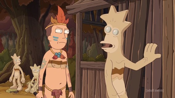 Rick and Morty Season 4 Episode 9- Childrick of Mort Jerry is a Camping Expert
