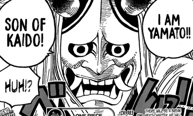 One Piece Chapter 983- Yamato, Son of Kaido