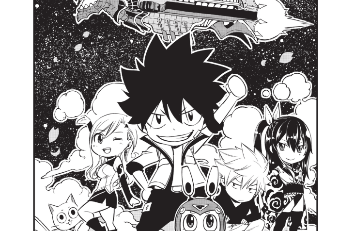 Edens Zero Chapter 100, Edens One Cover Page