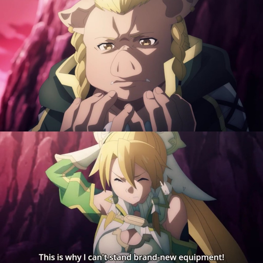 Sword Art Online: Alicization- War of Underworld- Lilipin meets Leafa