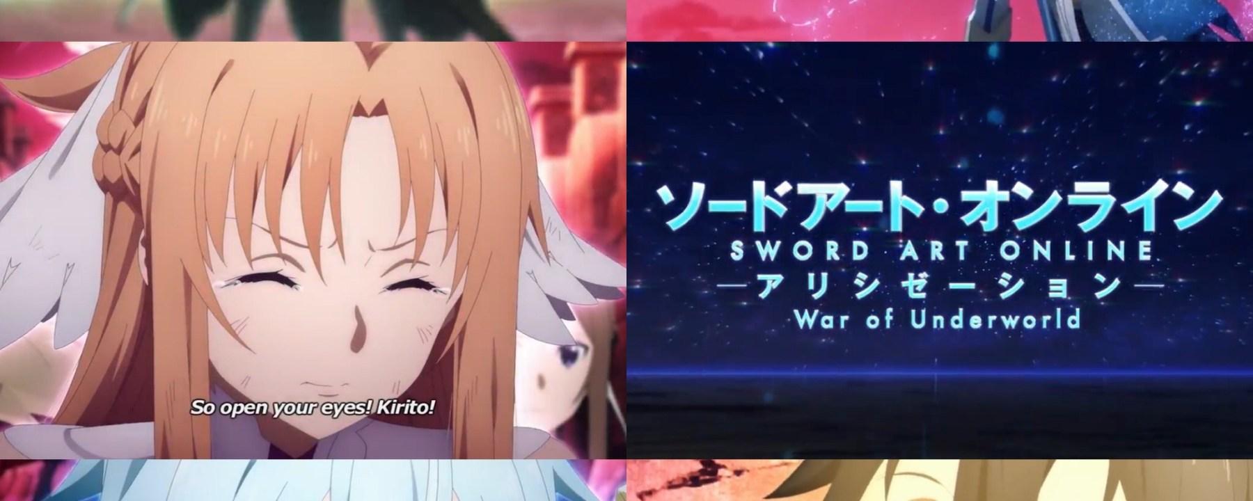 Sword Art Online: Alicization- War of Underworld