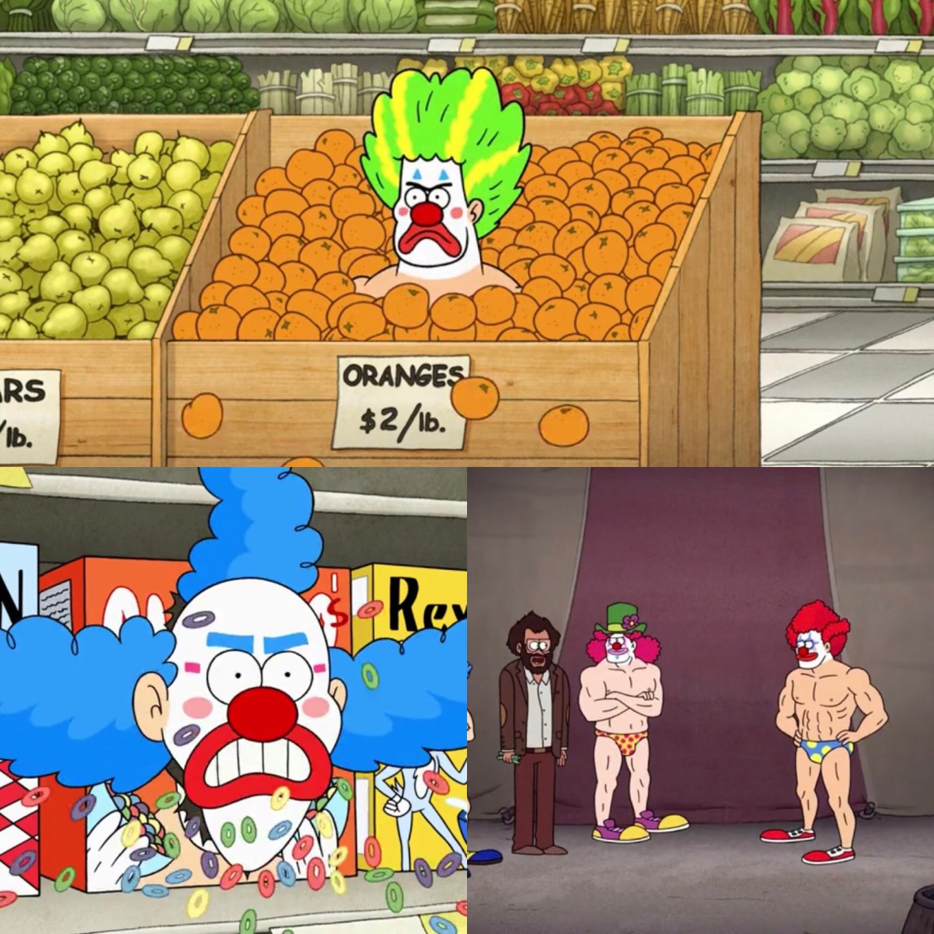 Close Enough Episode 3B- 100% Stress Free Day and Stripper Clowns