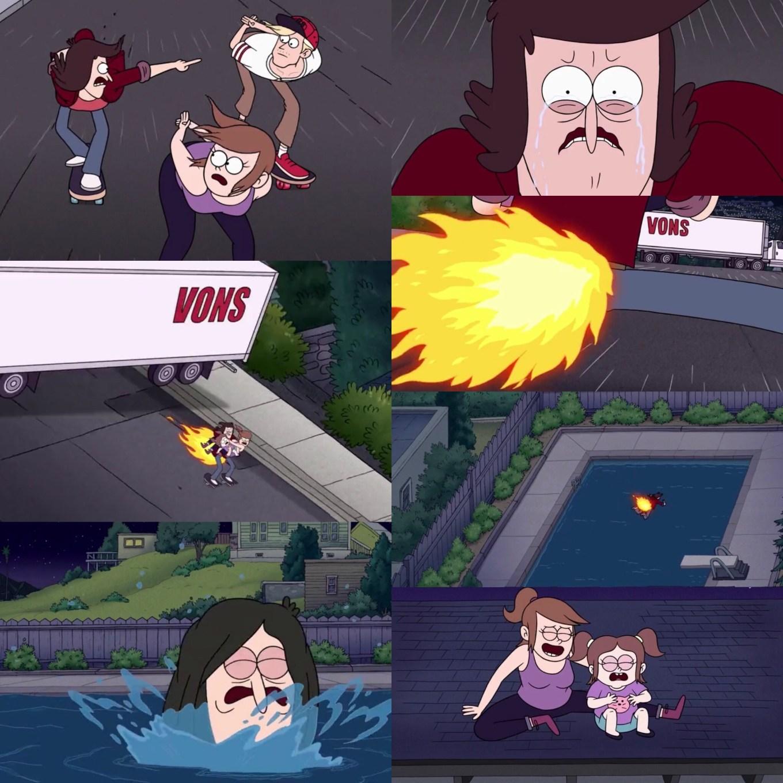 Close Enough Episode 3A- Skate Dad RIP Josh's Junk