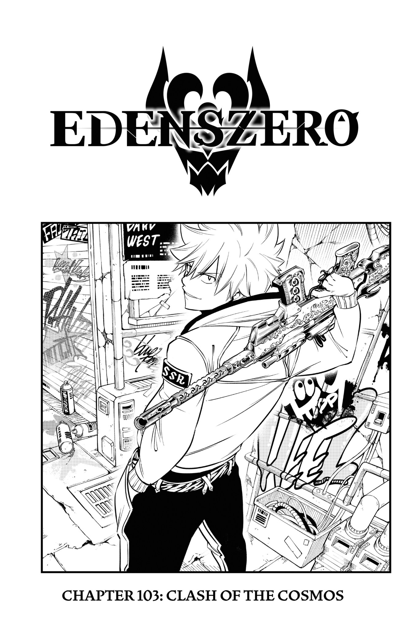 Edens Zero Chapter 103 Cover Page