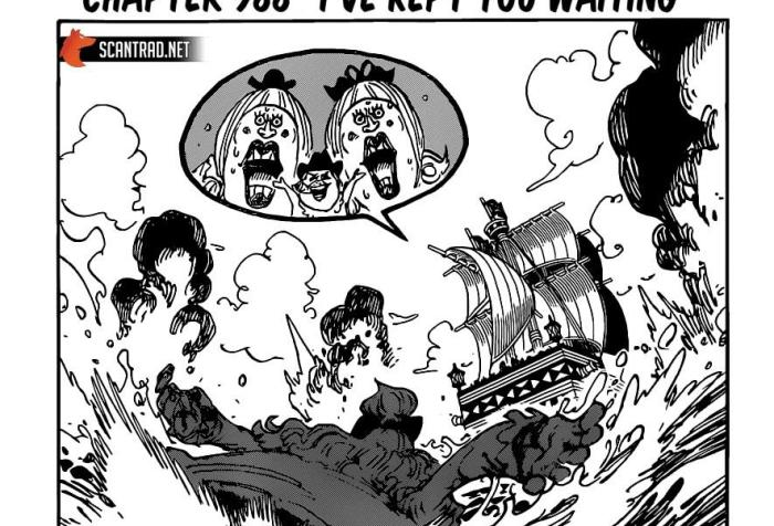 One Piece Chapter 988 Cover Page Bigger Version