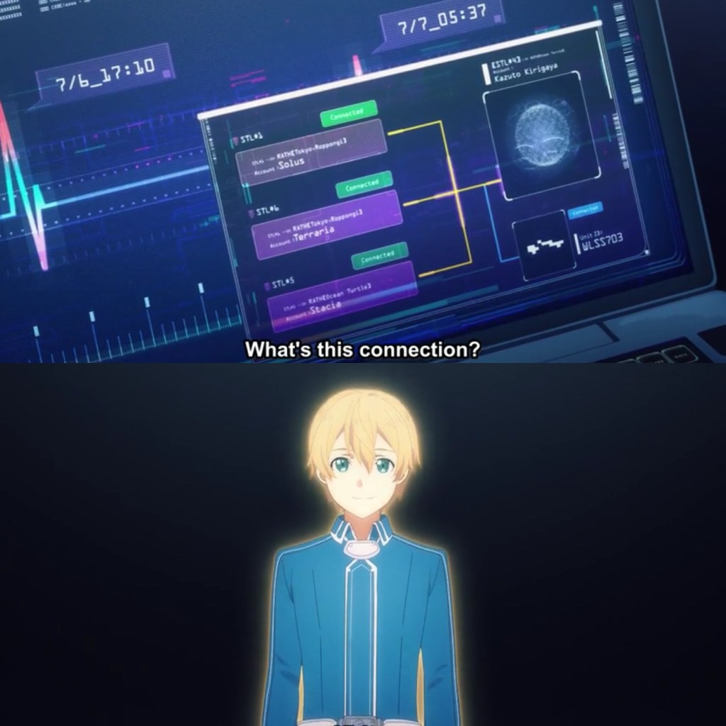 Sword Art Online: Alicization- War of Underworld Episode 42- Memory of Eugeo