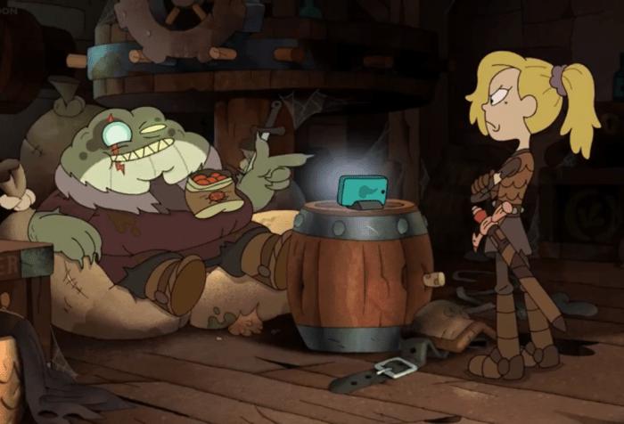 Amphibia Season 2 Episode 4- Quarreler's Pass and Toadcatcher-Sasha and Grime