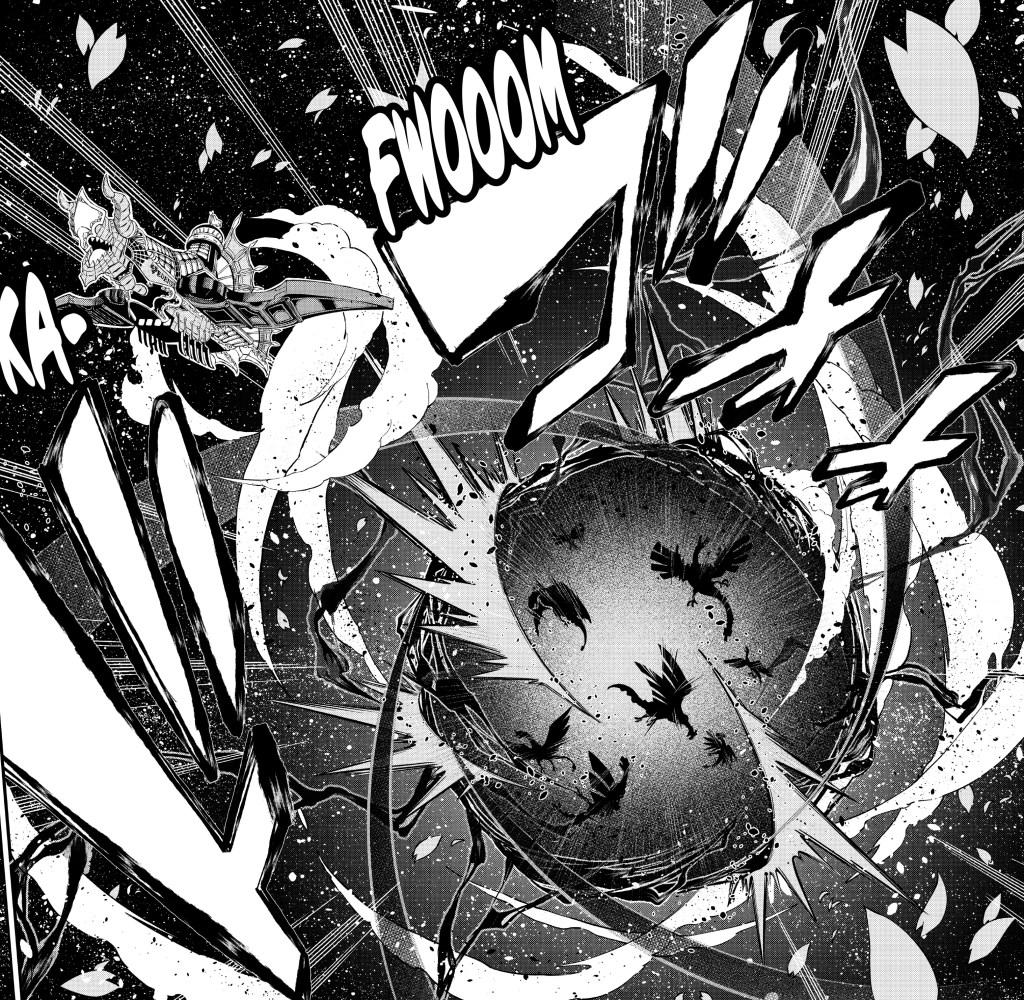 Edens Zero Chapter 105- Punching through Dragonfall
