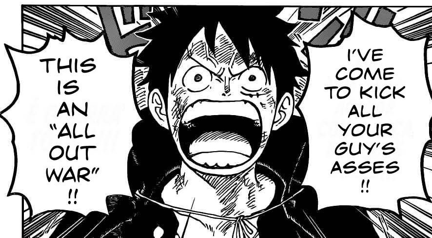 One Piece Chapter 987- Luffy Declares War on the Yonko