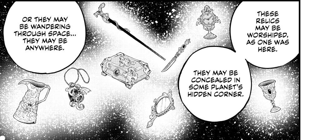 Edens Zero Chapter 111- Relics