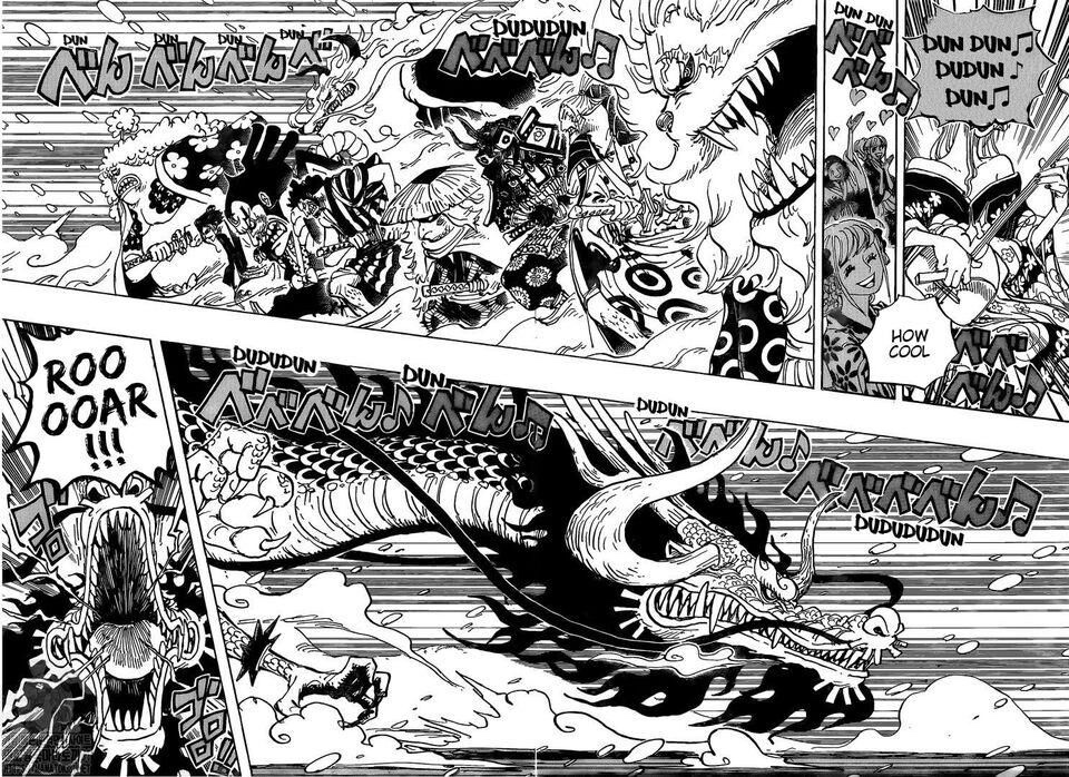One Piece Chapter 992-This is so awesome