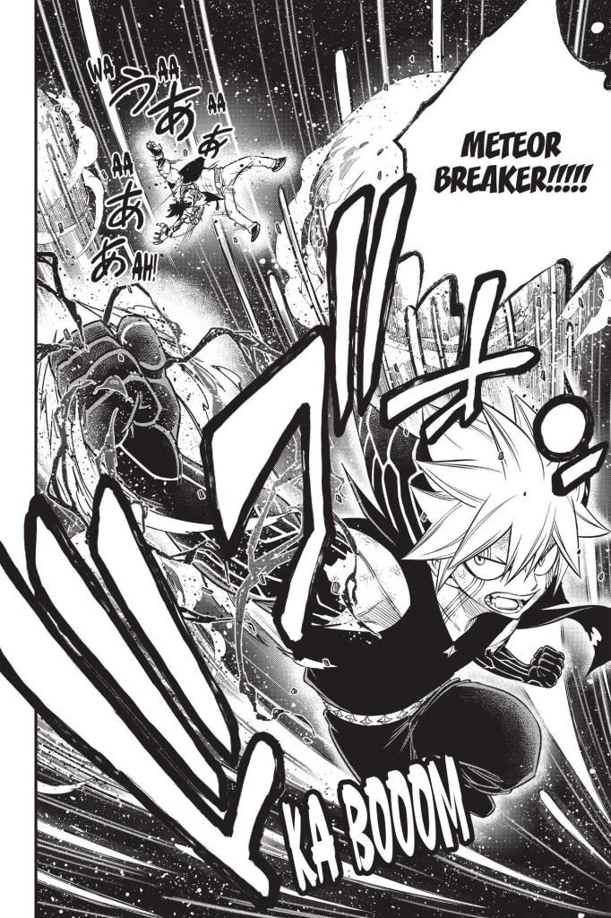 Edens Zero Chapter 117-Overdrive Shiki Beats Orc