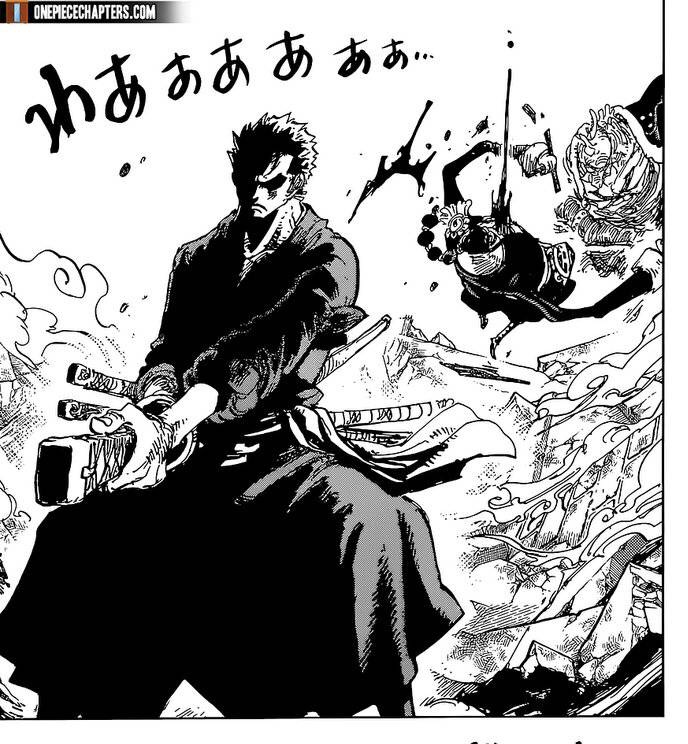 One Piece Chapter 997-Zoro Defeats Apoo and Gets the Antibodies