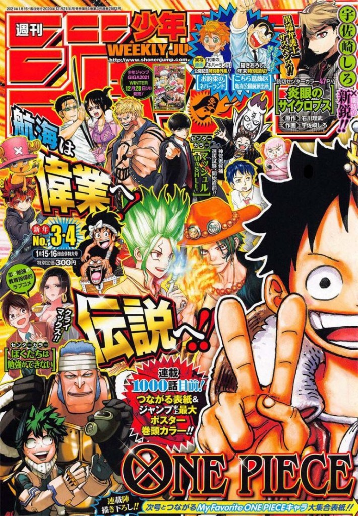 One Piece Chapter 999 Cover
