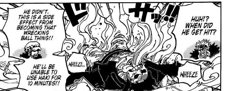 One Piece Chapter 1003-Luffy Loses his Strength