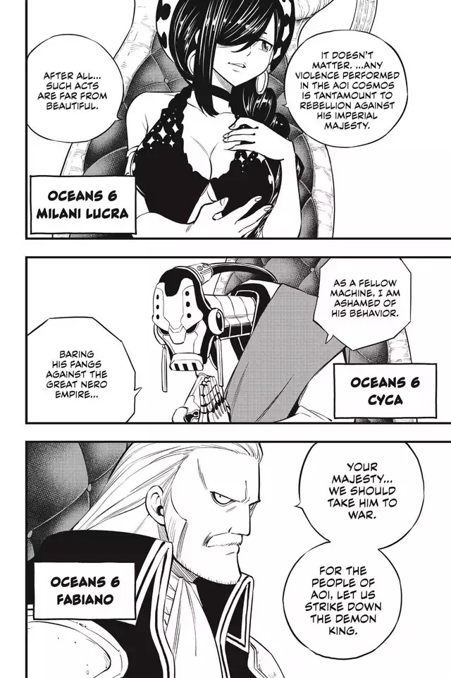 Edens Zero Chapter 130-Oceans 6 2