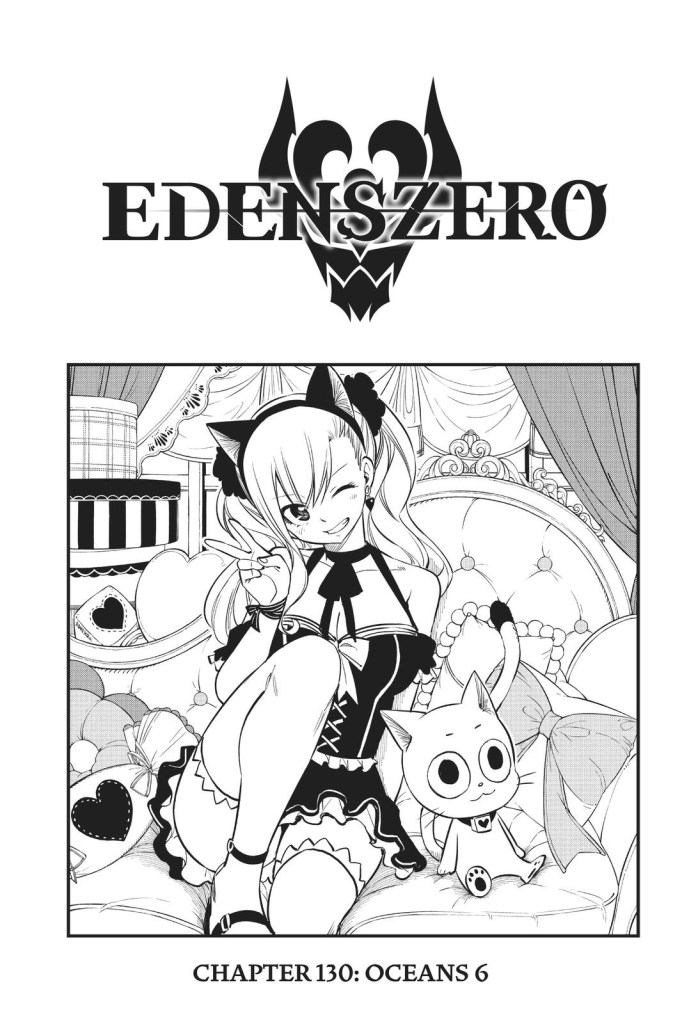 Edens Zero Chapter 130 Cover Page