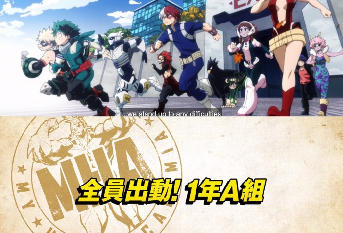 My Hero Academia S5 Episode 1-Heroes, Move Out