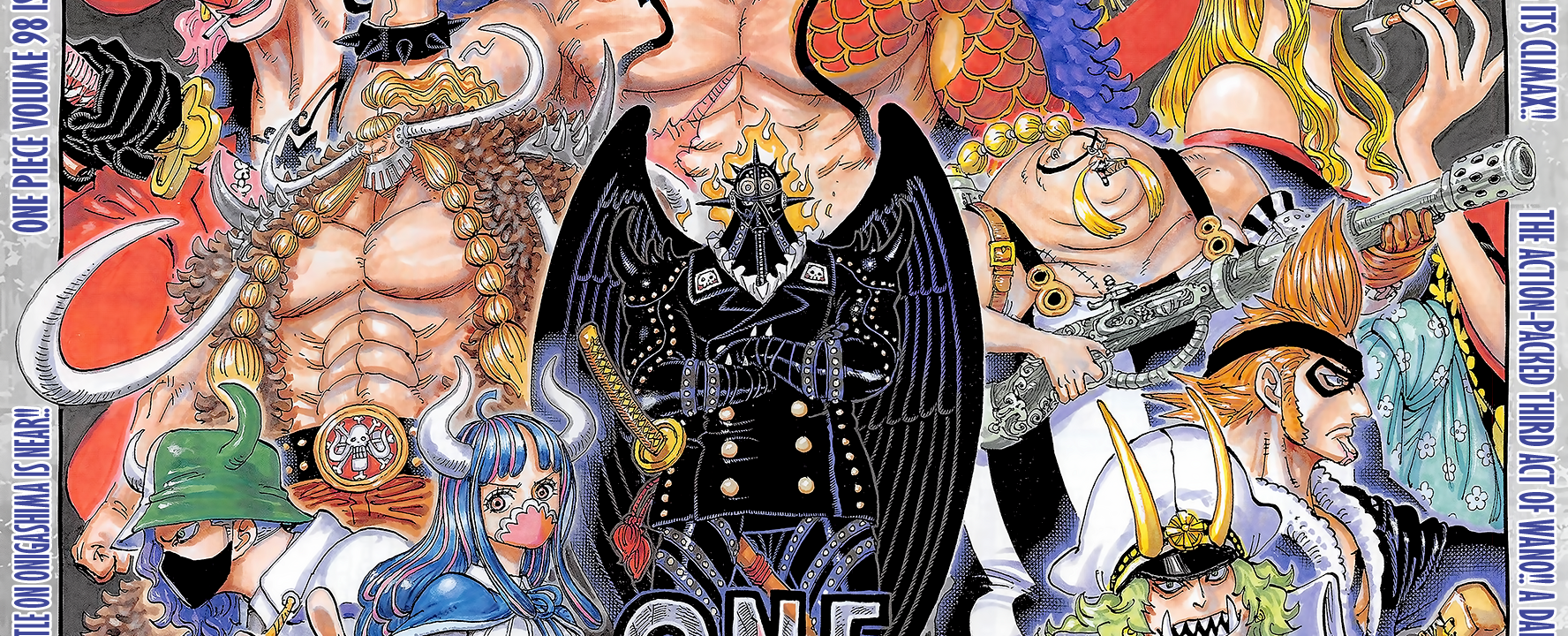 One Piece Chapter 1006 Cover Page