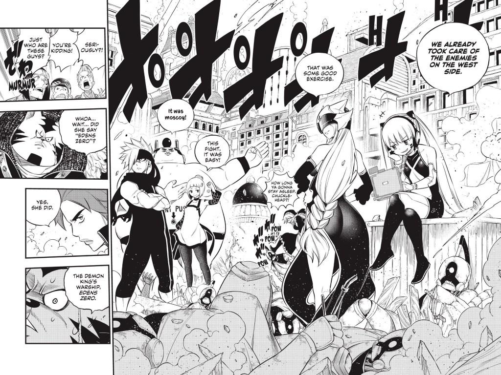 Edens Zero Chapter 138-Badass Montage 5
