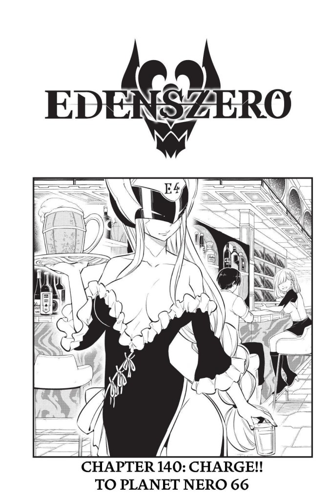 Edens Zero Chapter 140 Cover Page