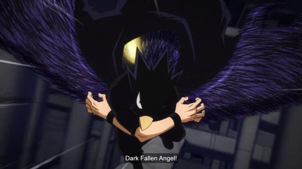 My Hero Academia S5 Episode 5-Black Fallen Angel!