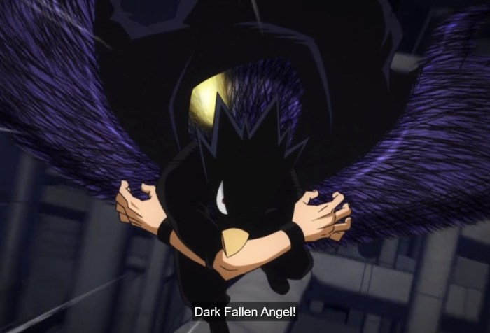 My Hero Academia S5 Episode 5-Black Fallen Angel!