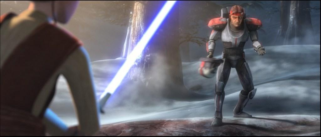 Star Wars: The Bad Batch-Hunter Tries to Talk Down Caleb