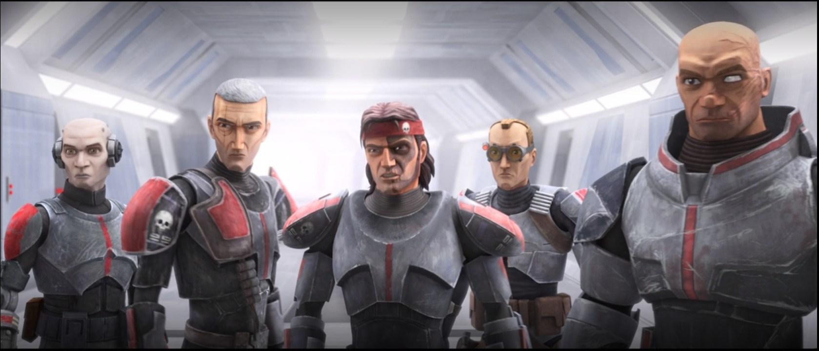 Star Wars: The Bad Batch Premiere-The Bad Batch
