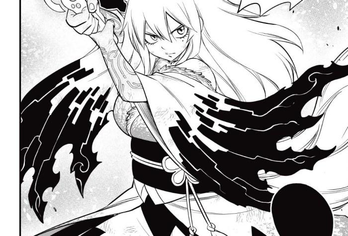 Edens Zero Chapter 145-Homura's Overdrive Form