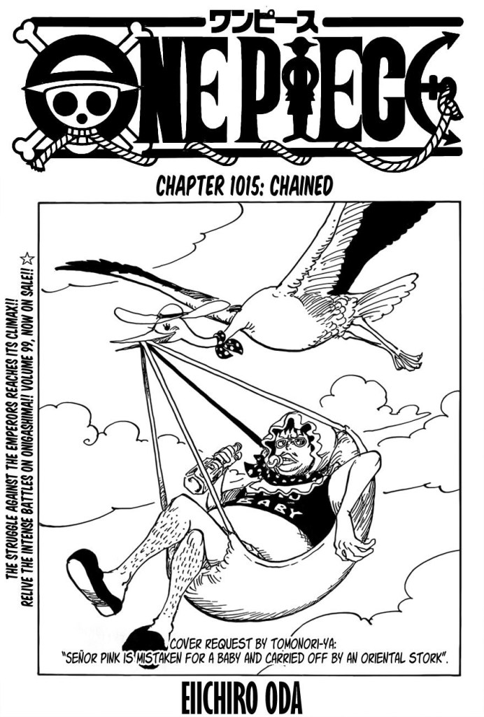 One Piece Chapter 1015 Cover Page