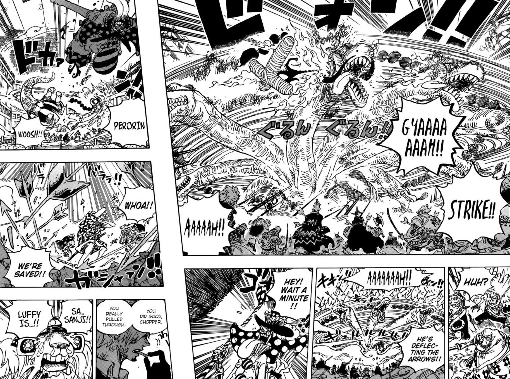 One Piece Chapter 1015-Sanji Wastes Queen