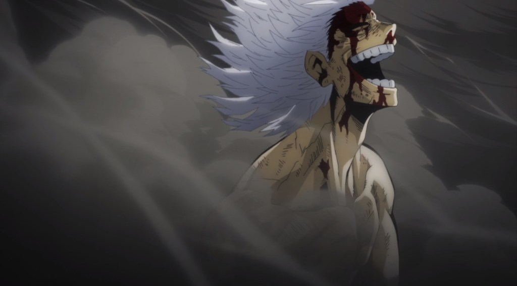 My Hero Academia S5 Episode 13-Bloody and Laughing Shigaraki
