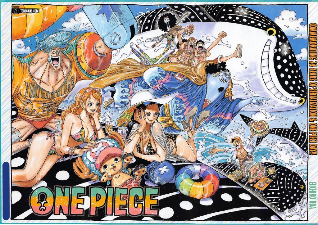 One Piece Chapter 1019 Cover