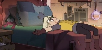 The Owl House S2 Episode 6-Amphibia Reference