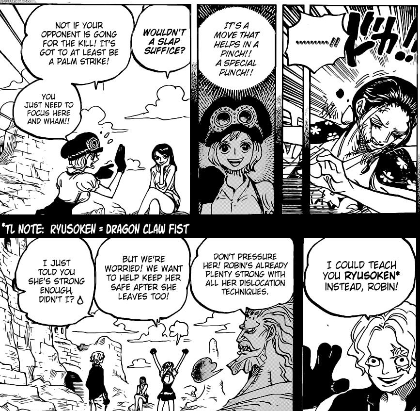 One Piece Chapter 1021-Robin's Training