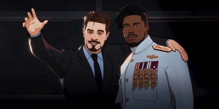 Marvel What If... Episode 6-Tony Stark and Killmonger