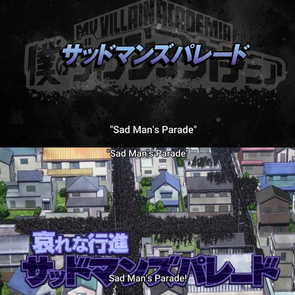 My Hero Academia S5 Episode 22-Twice's Sad Man's Parade