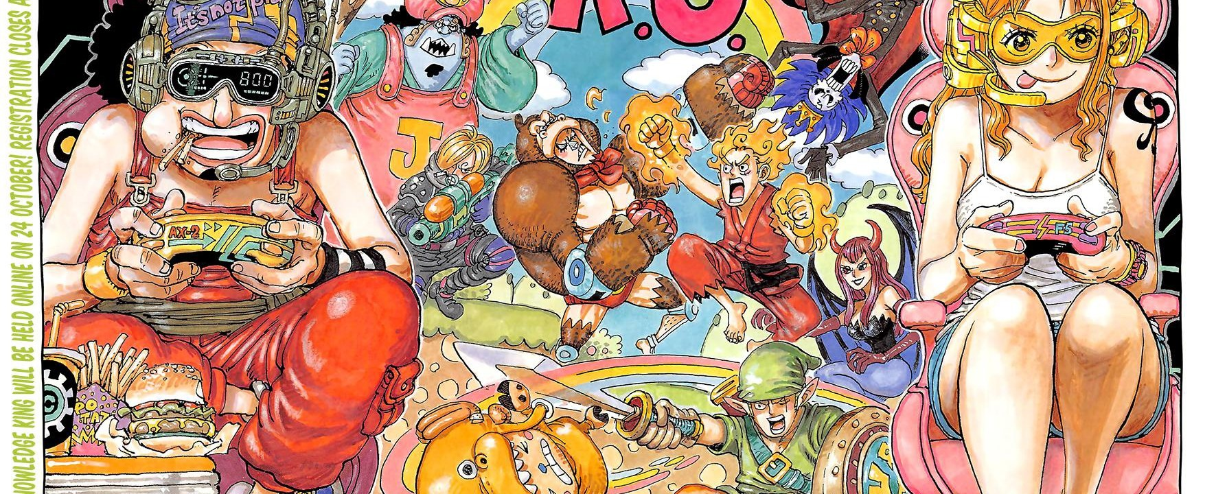 One Piece Chapter 1028 Cover Page