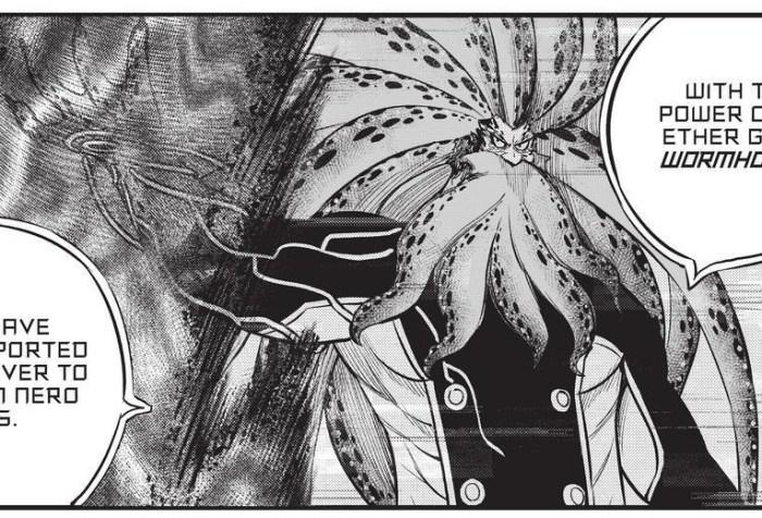 Edens Zero Chapter 163-Nero's Ether Gear, Wormhole