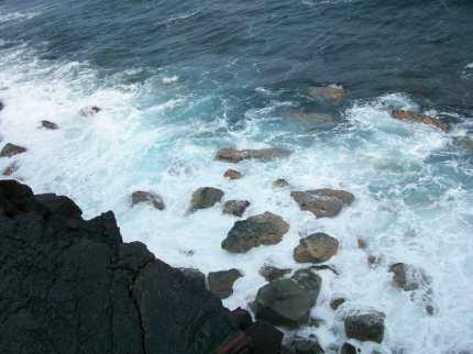 Hawaii Vacation - Black Sand Shore