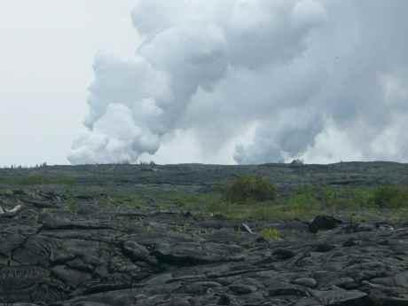 Hawaii Vacation - Volcano Steam