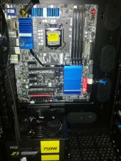 Motherboard in place