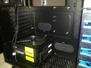 Power supply unit (PSU) installed