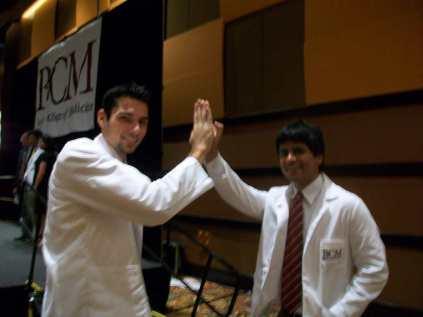 High-five buddies from orientation