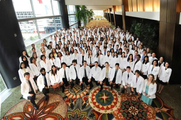 Class of 2013's White Coat Ceremony